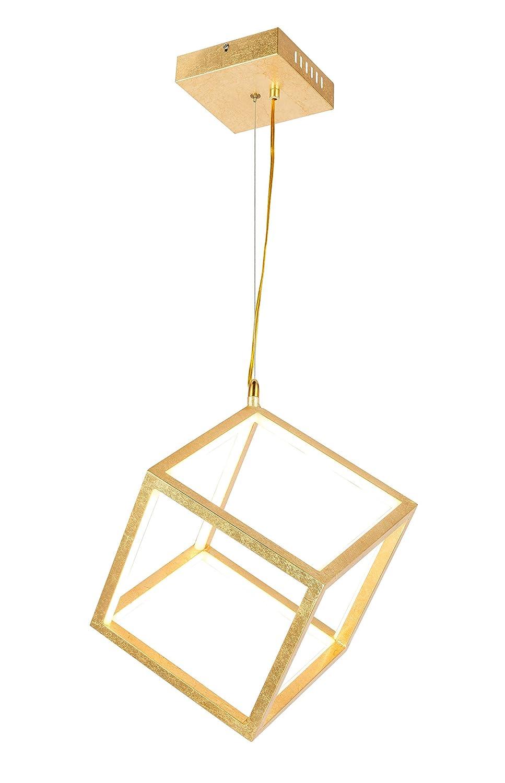 Globo Selmy - Lámpara de techo, color dorado: Amazon.es ...