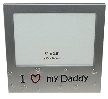 i love my daddy expressions photo picture frame gift 5 x 35 quot
