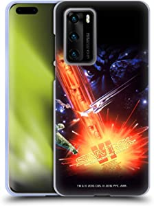 Head Case Designs Officially Licensed Star Trek The Undiscovered Country Movie Posters TOS Soft Gel Case Compatible with Huawei P40