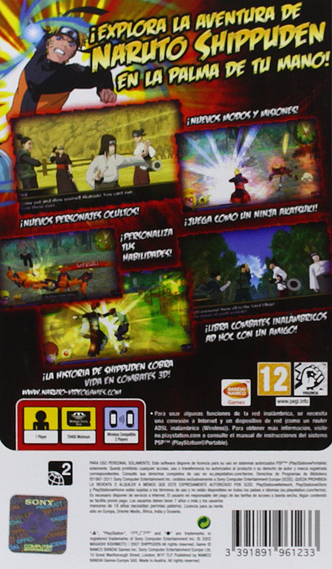 Naruto Shippuden: Legends Akatsuki Rising - Essentials ...