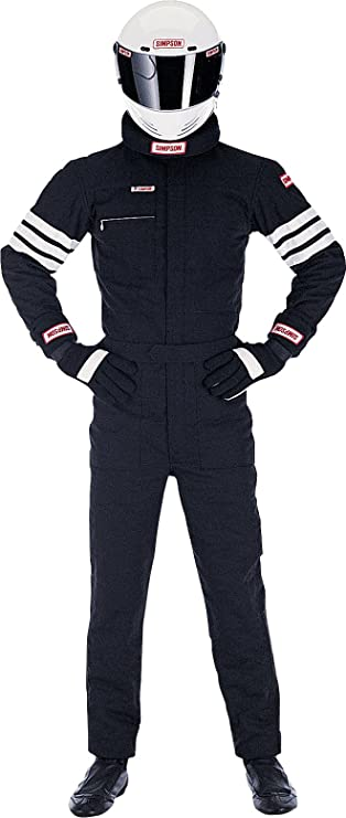 Simpson Racing Racing LY22271 Legend II Suit Medium Black