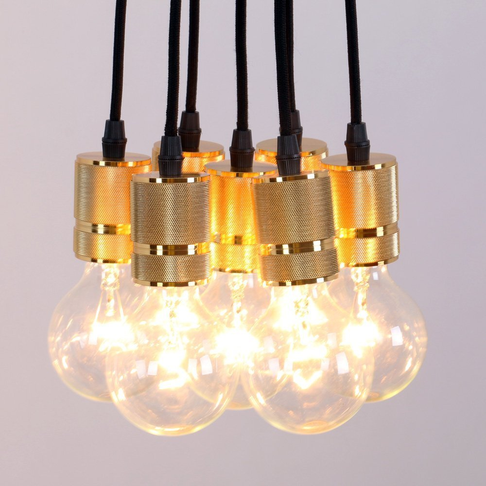 KINGSO E27 Lampenfassung Retro Lampe Anhänger Vintage Antike Edison ...