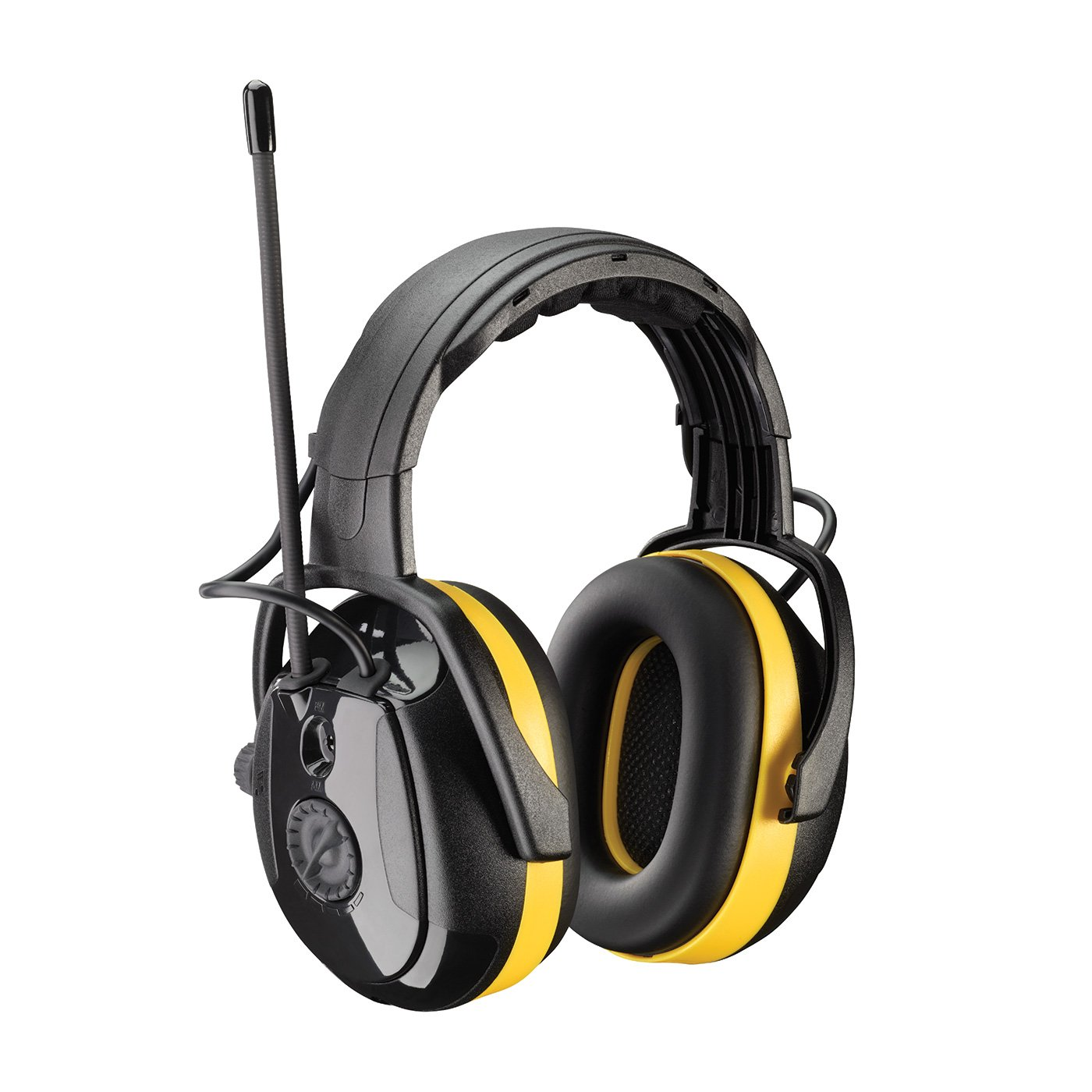 Relax 264-45002 NRR 24 Electronic Ear Muff with Headband Adjustment and AM/FM Radio, Large