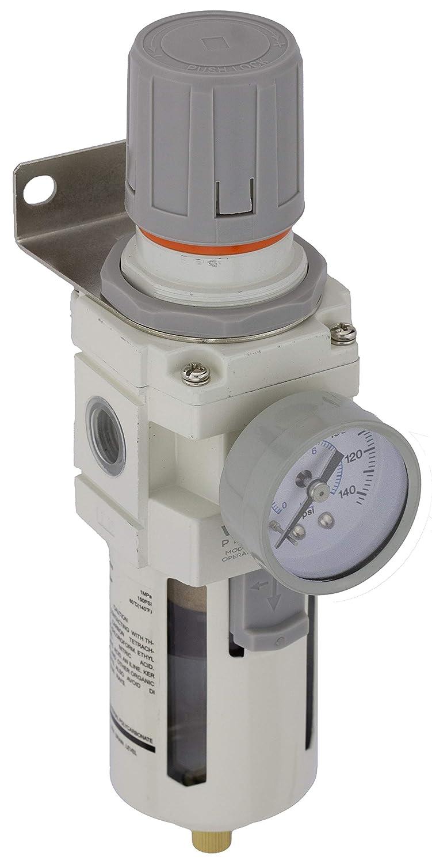 Wingside Pneumatics NAW4000-04 1/2 inch NPT Air Filter Pressure ...