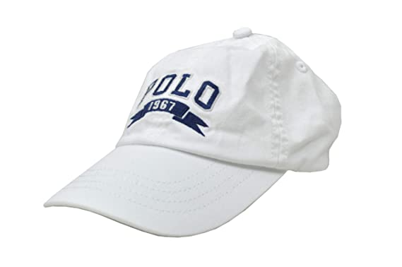 a8a6319e7747f Boy s Cotton Polo 1967 USA Flag Baseball Cap Dad Hat White Blue (One Size 2T