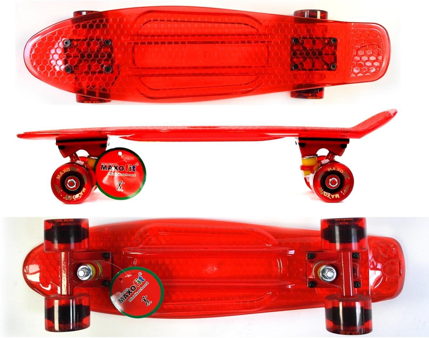 MAXOfit Skateboard Mini Cruiser Retro kaufen