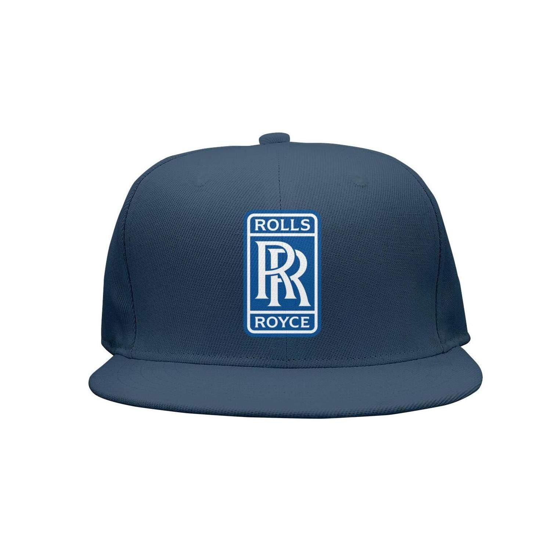 Stylish Rolls-Royce-Symbol-Logo-Emblem Basketball hat Womens Mens