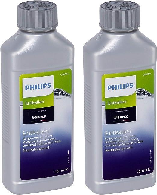 2er Pack Philips de antical CA6700/99 para cafeteras de espresso ...