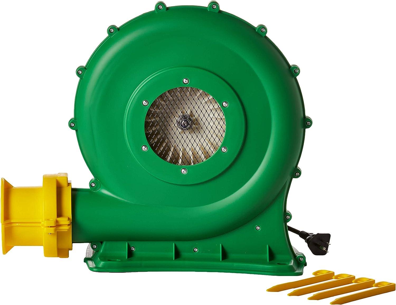 B-Air Koala KP-680 1/2 HP Air Blower | Bounce House Blower Fan for Medium Inflatable Bounce House, Bouncy Castle and Slides