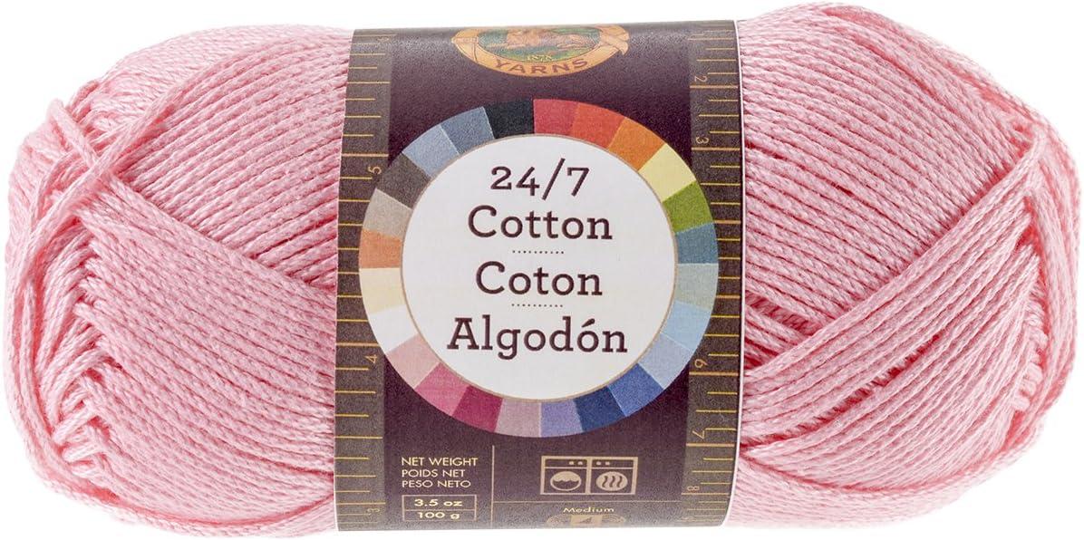 Camel Lion Brand Yarn Company Lion Brand 761-124 24-7 Cotton Yarn 100/% 15.24x6.35x6.35 cm