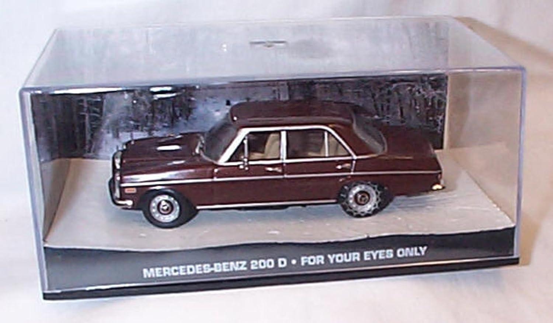 James Bond Mercedes Benz 200D 007 1//43 DY122