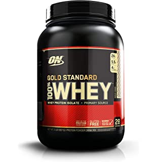 Optimum Nutrition Gold Standard 100% Whey Proteína en Polvo, Rocky Road (Chocolate,