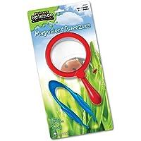 Learning Resources lupa y pinzas, juguete de motor fino, fácil agarre, edades 3 +