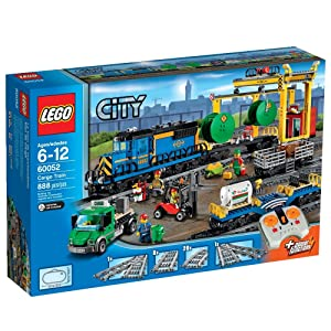 Best LEGO City Trains Cargo Train 60052 sets for boys