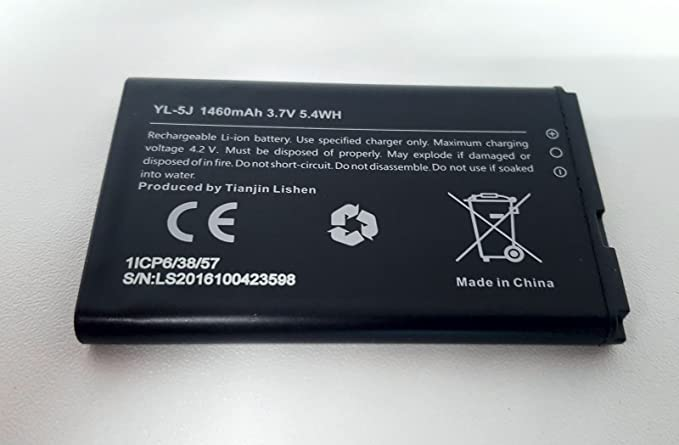 Amazon.com : Yealink W56-BATT Replacement Battery for W56P W56H DECT Phone : Electronics