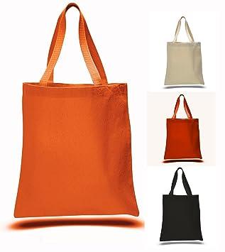 Amazon.com: Heavy Canvas Halloween Tote Bags, Halloween Trick or ...