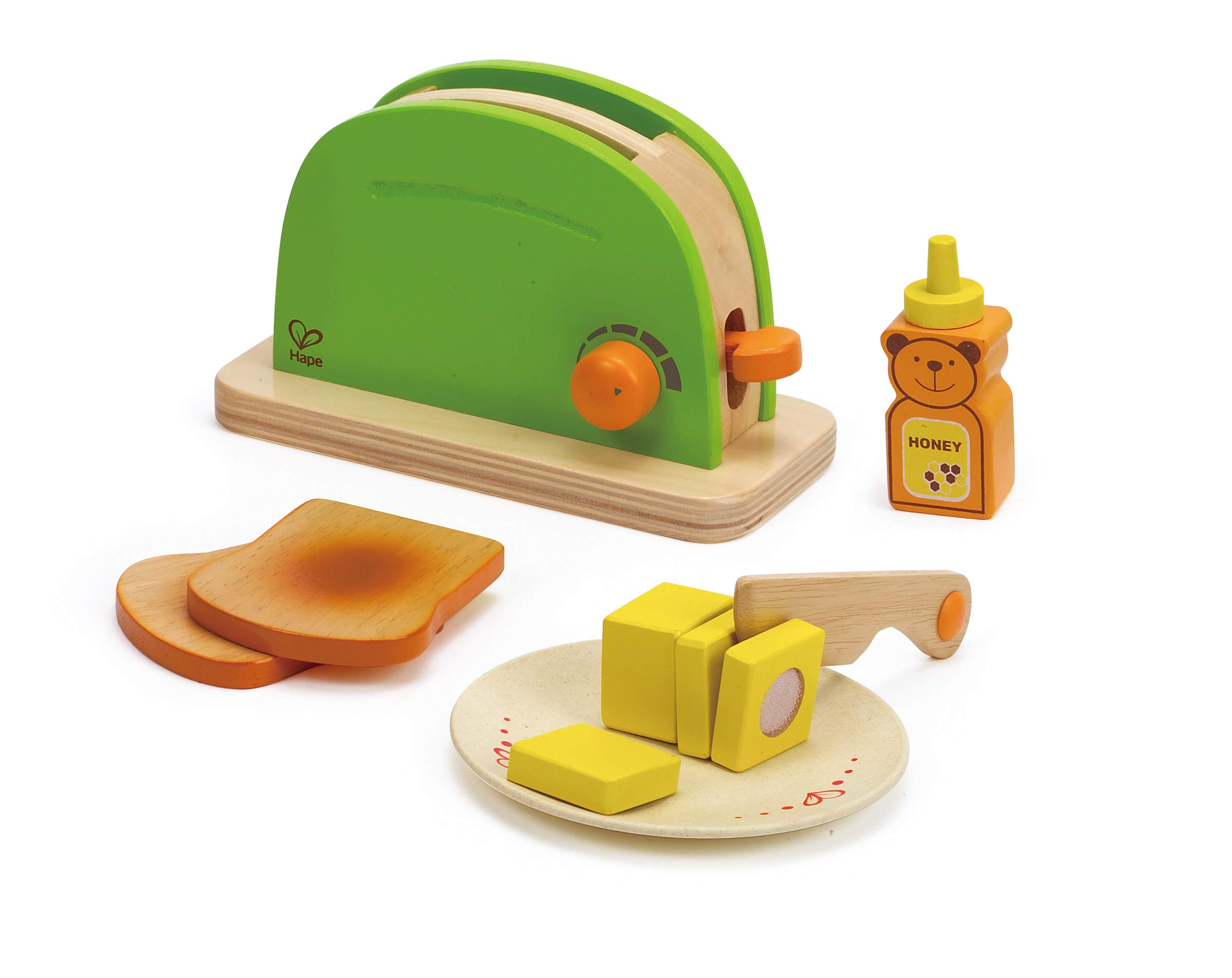 Hape Pop Up Toaster Wooden Play Kitchen Set with Accessories by Hape