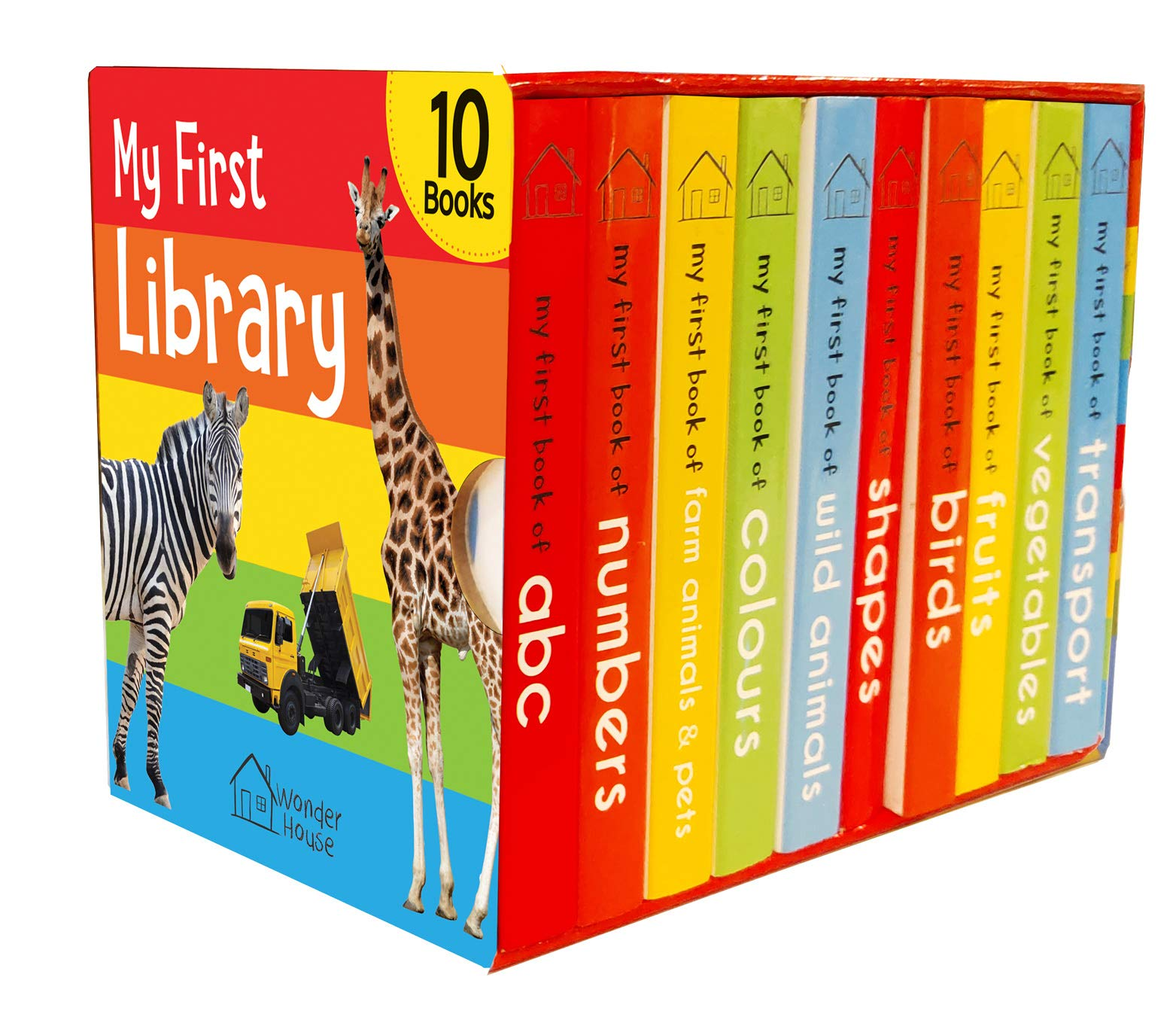 My First Library: Boxset of 10 Board Books for Kids (9387779262) Amazon Price History, Amazon Price Tracker