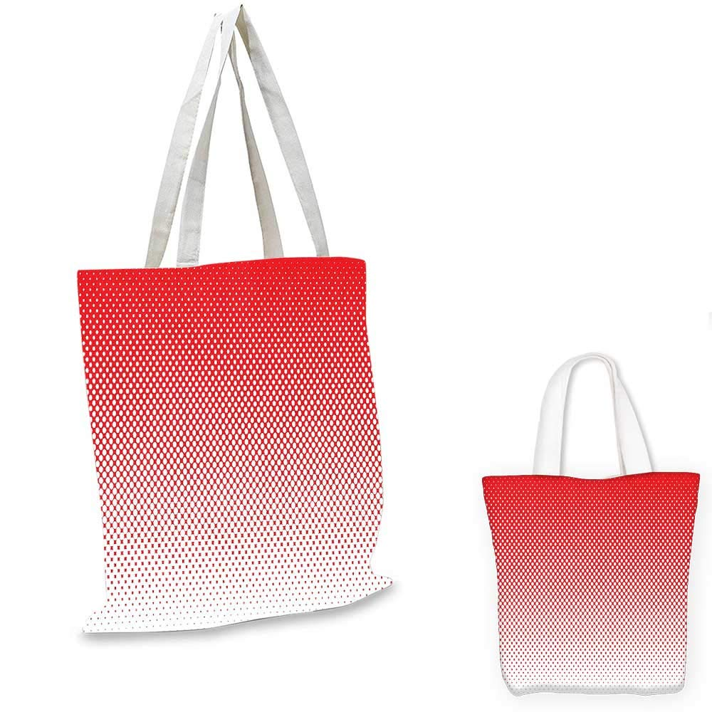 14x16-11 Red canvas messenger bag Jumping Reindeer Leaving a Starry Trace Behind Popular Christmas Character Silhouette foldable shopping bag Red White