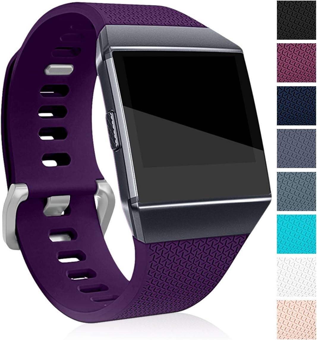 Malla para reloj  Fitbit Ionic SmartWatch (talle L, violeta)
