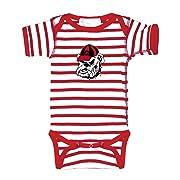 Two Feet Ahead Georgia Bulldogs NCAA College Newborn Infant Baby Creeper (6 Months)