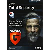 G DATA Total Security 2019 für 3 Windows-PC / 1 Jahr / Erstklassiger Rundumschutz durch Firewall & Antivirus / Trust in German Sicherheit