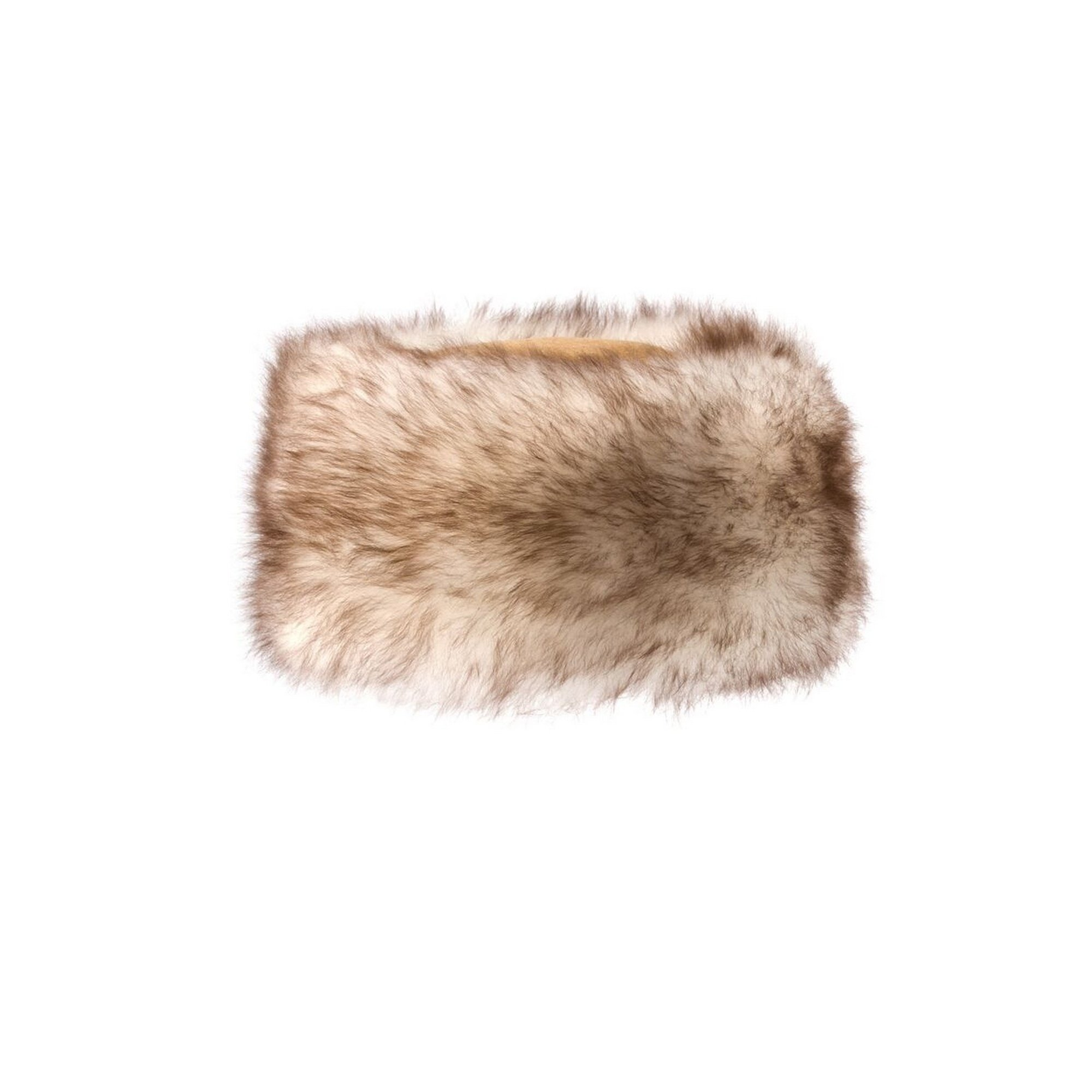 Eastern Counties Leather Womens/Ladies Kate Cossack Style Sheepskin Hat (M) (Tan/Natural Tipped)