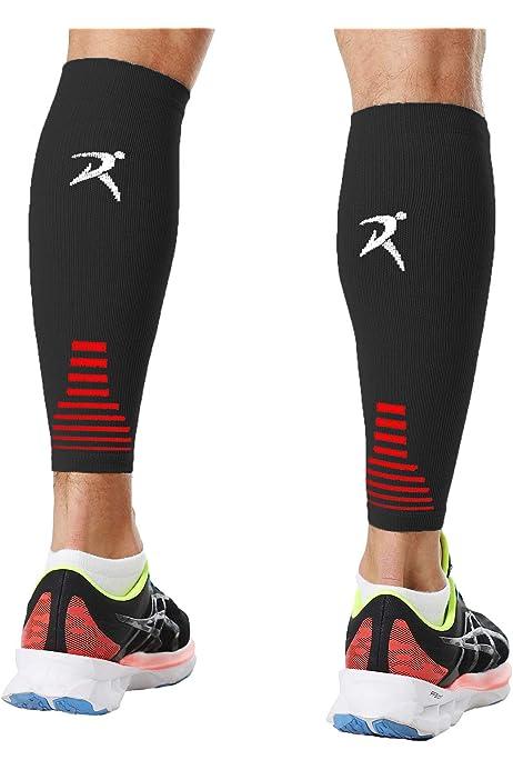 3 Pairs Unisex Running Compression Calf Sleeves Shin Splints Leg Socks