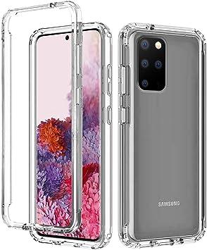 AICase Coque Galaxy S20 Plus Transparent 360,de qualité Militaire, Antichoc PC Etui de Protection Bumper Housse pour Samsung Galaxy S20 Plus Clear ...