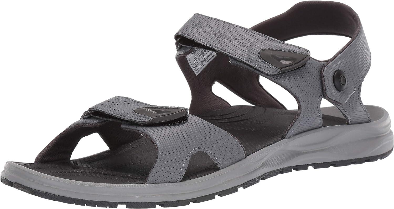 Columbia Men's Wayfinder 2 Strap Sandal, Convertible, Wet-Traction Grip