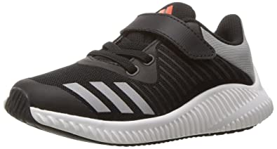 newest collection 53ed8 99c43 adidas Originals Boys  Fortarun EL Running Shoe,  Black Metallic Silver Energy