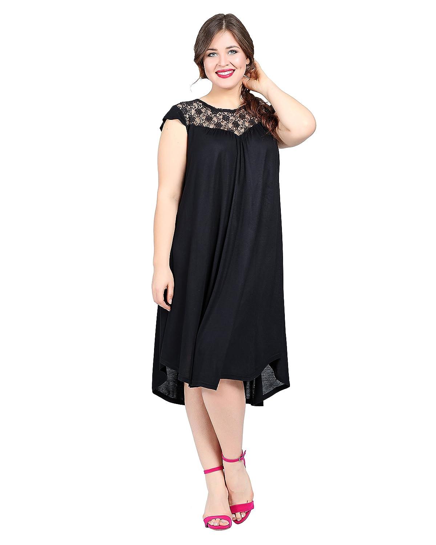 Damen Kleid Abendkleid auch Große Größen Übergrößen, Cocktailkleid A ...