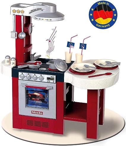 Theo Klein-9156 Miele Cocina Gourmet Deluxe con numerosos Accesorios, Juguete, Multicolor, 4-6 años (9156)