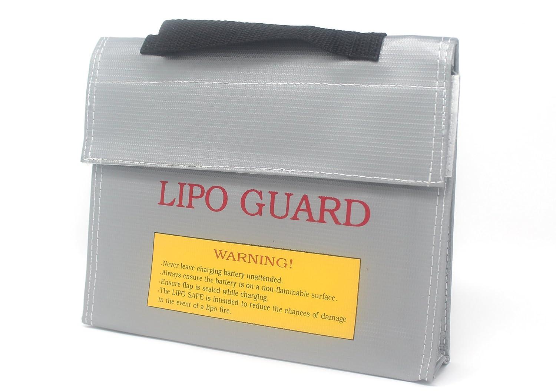 molinoRC LiPo Battery Guard Bag Lipo-Safe Lipotasche Lipotschutztasche Feuerbest/ändige Sicherheit Schutztasche Ladeger/ät Sack 21.5 * 4.5 * 16.5cm
