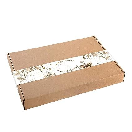 Logbuch-Verlag - Caja pequeña de papel de estraza para ...