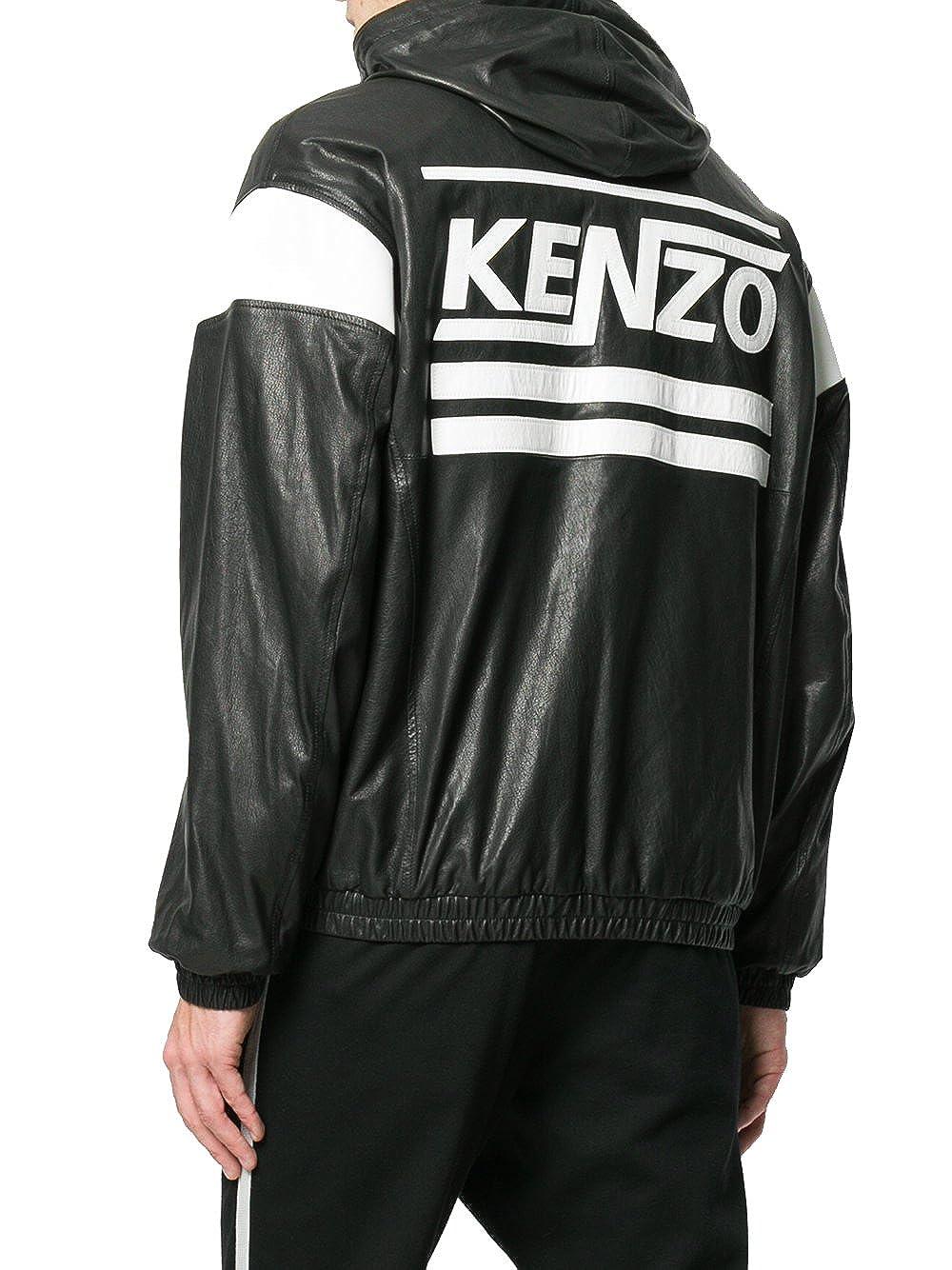Kenzo - Chaqueta - para hombre blanco/negro Talla de marka M: Amazon.es: Ropa y accesorios