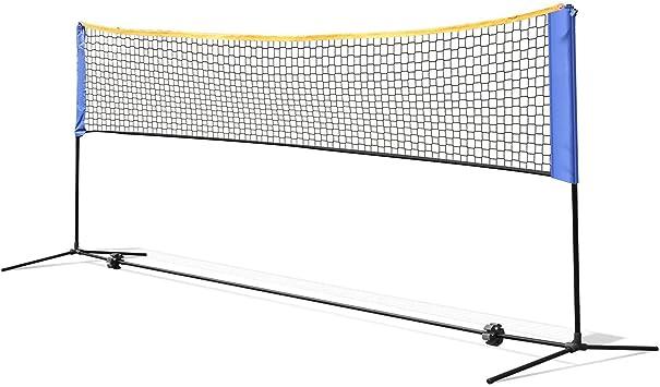 Net for Tennis Soccer Tennis Pickleball, Boulder Portable Badminton Net Set