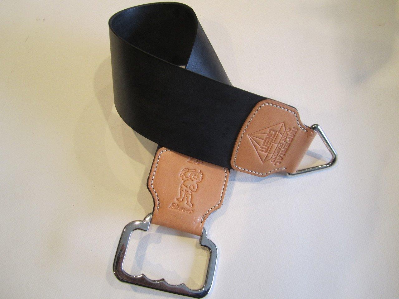 Lil' Shaver Gem/Black Diamond Horsehide Razor Strop