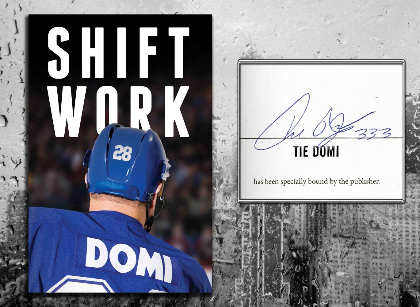 Tie Domi SHIFT WORK Signed Hardcover Book sportauthentix