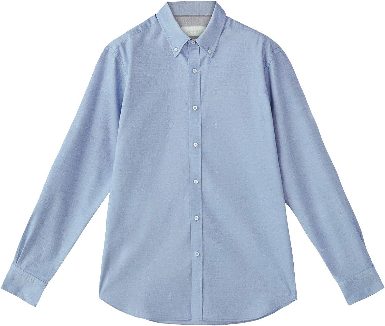 MASSIMO DUTTI 0115/132/403 - Camisa de algodón para Hombre ...