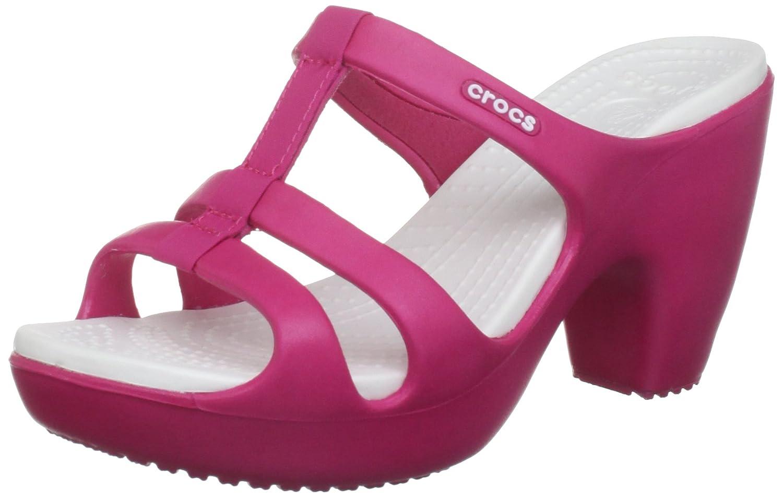 Crocs Cyprus III Women, Sandales femme , Rose (Raspberry/Oyster), EU 36,37  (W6) Amazon.fr Chaussures et Sacs