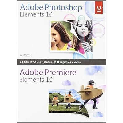 Adobe Photoshop Elements & Premiere Elements 10, Win, RTL, ESP - Software de gráficos (Win, RTL, ESP Photoshop Elements, 7000 MB, 2048 MB, 2000 MHz, ESP)