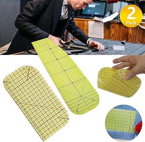 High Temperature Ironing Ruler Hot Ironing Measuring Ruler Hot Ironing Ruler Patch Tailor Craft DIY Sewing Supplies Measuring Tool for Clothing Making Patchwork Tailor Tools for Clothing Making