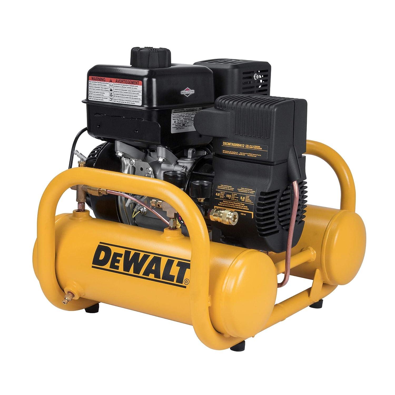 Amazon.com: DeWalt DXCMTA5090412 Subaru Powered Oil Free Direct Drive Air  Compressor, 4-Gallon: Home Improvement