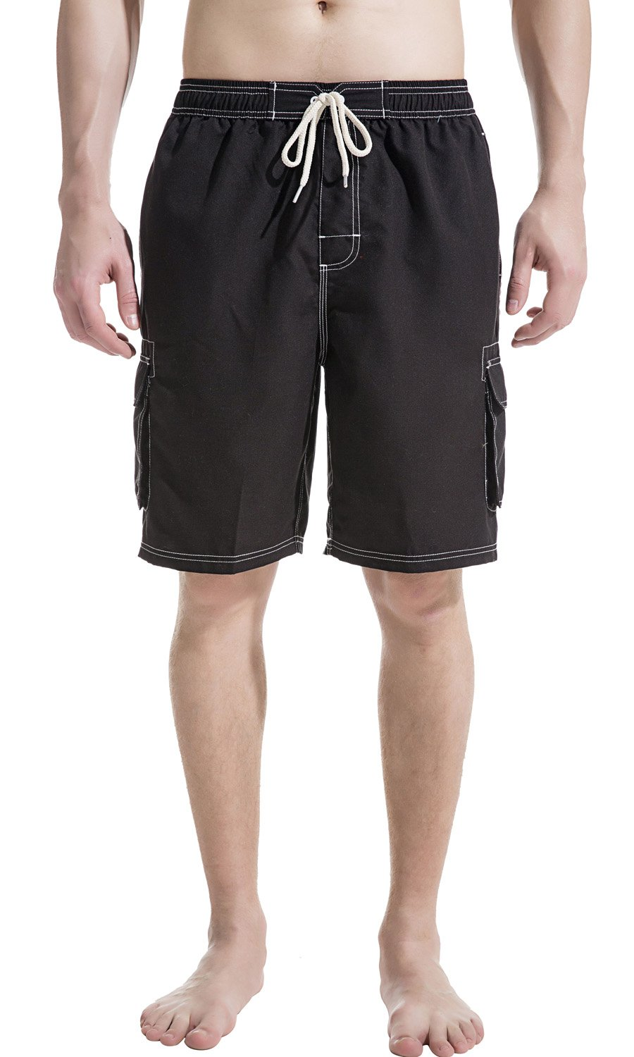 2a0a8cbc9c Akula Mens Beach Board Shorts Swim Trunks with Cargo Pockets product image