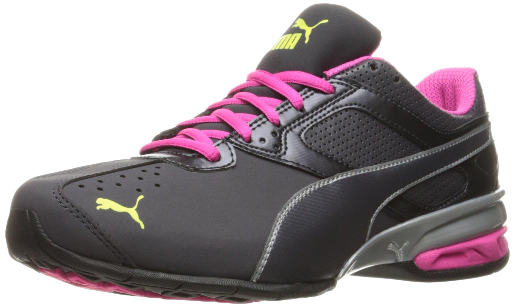 PUMA Women's Tazon 6 WN's fm Sneaker Periscope Silver-Pink glo, 6.5 M US