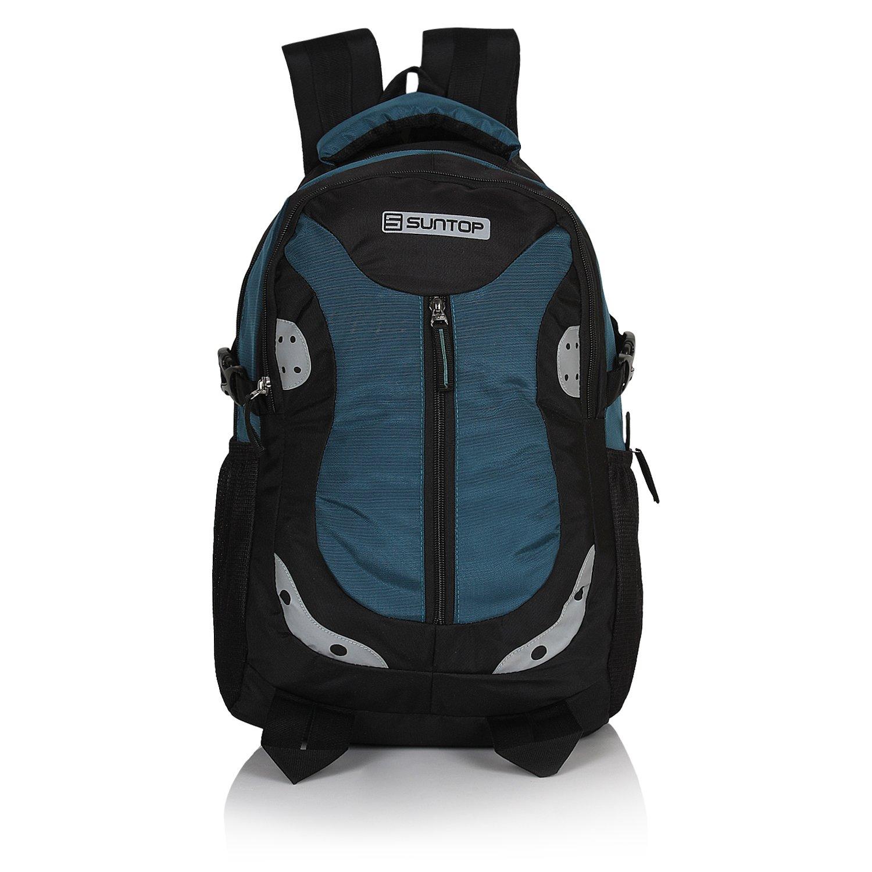 Suntop Neo 9 26 Ltrs Black & Blue Casual Backpack