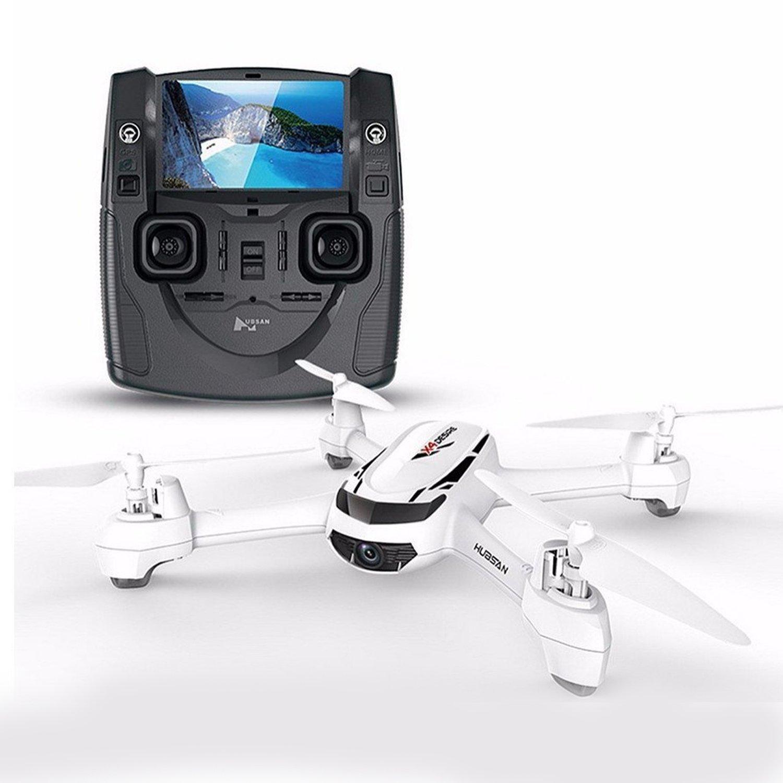 Hubsanドロン 720P カメラ付き GPS搭載 5.8G FPV 200M制御距離 ローバッテリーフェイルセーフ 日本語説明書H502S X4 DESIRE   B079QH9PN6