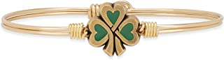 product image for Luca + Danni   Lucky Shamrock Bangle Bracelet For Women Made in USA