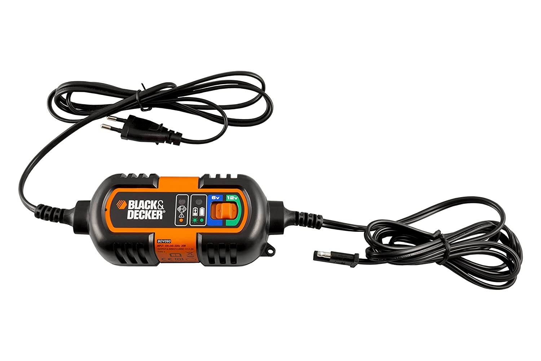Black+Decker BC2WBD Cargador//Mantenedor para Bater/ía 2 Amp